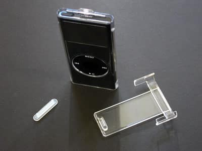 First Look: Power Support Crystal Jacket for iPod nano 2G