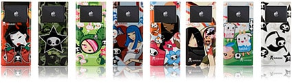 iSkin offers Tokidoki Vibes for 2G iPod nano