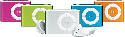 Apple unveils iPod shuffle in four new colors (updated)