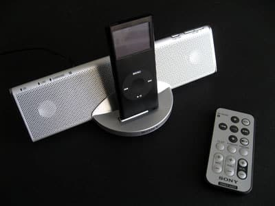Review: Sony CPF-iP001 Cradle Audio for iPod