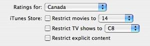iTunes 7.1 shows international video, Apple TV details