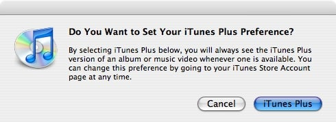 iTunes Plus DRM-free music