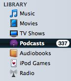 Managing Podcasts