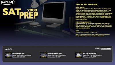 Kaplan intros Test Prep on iTunes