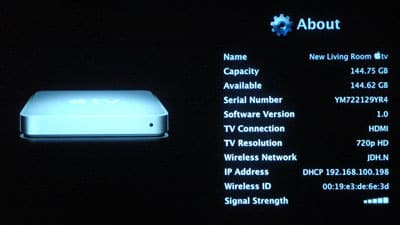 160GB Apple TV arrives, with pictures (updated)