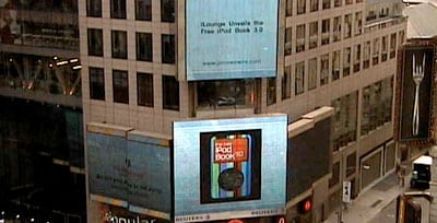 Book 3 hits Times Square, over 300k downloads