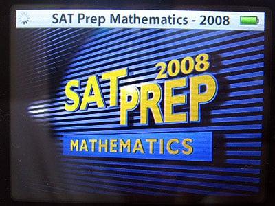 First Look: Kaplan SAT Prep Mathematics 2008