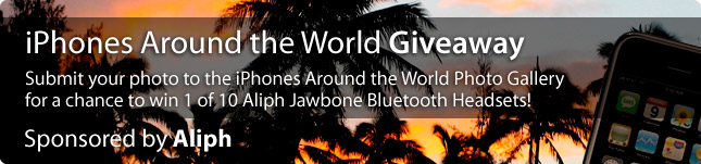 iPhones Around the World Giveaway – Winners Announced