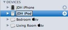 Renaming iPod