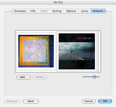 Removing multiple artwork images