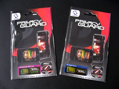 First Look: Capdase PrivacyGuard, ScreenGuard & SkinGuard Film Protectors