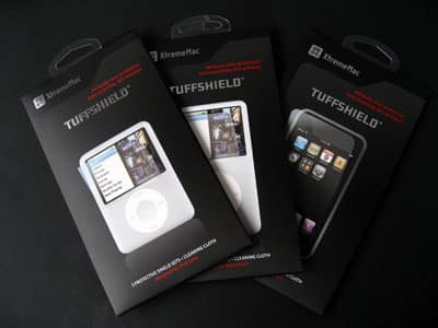 First Look: XtremeMac TuffShield for iPod nano, classic & touch