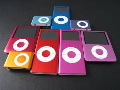 Apple's pink iPod nano colors, compared [updated]
