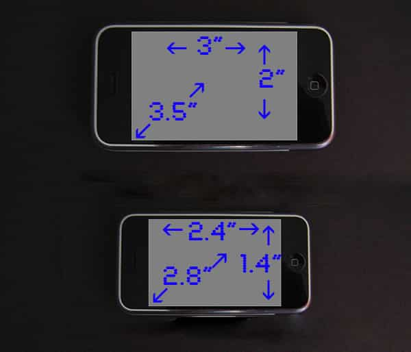 Shrinking iPhone, Shrinking Interface: The Issues