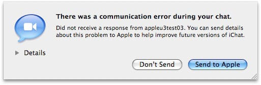 iChat Video Problems + Solutions, or Don't Return Your New Mac Yet