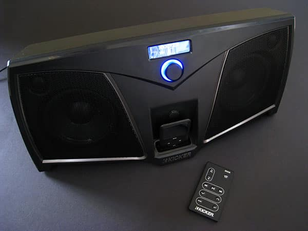 Review: Kicker iKICK iK500 Stereo System for iPod