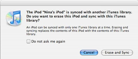 Upgrading to a new iPod