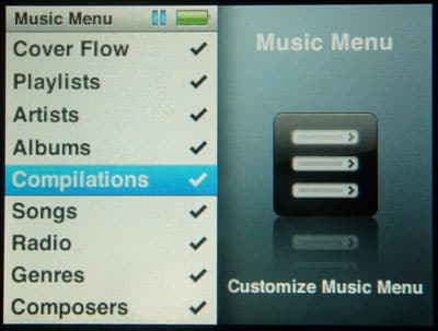 Artists not appearing on iPod