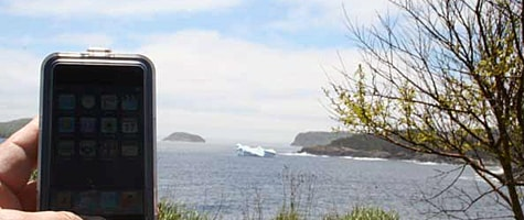 Photo of the Week: iPod touch in Canada