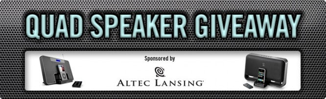 Quad Speaker Giveaway – Winners Announced