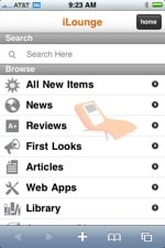 iLounge launches redesigned iLounge Mobile for iPhone, iPod touch