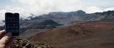 Photo of the Week: iPhone in Hawaii