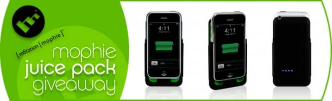 Mophie Juice Pack Giveaway – Winners Announced