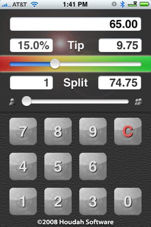 Review: ACTGratuity by Houdah Software