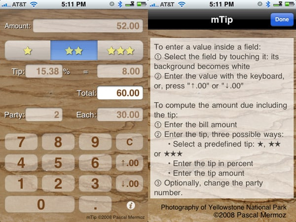 Review: mTip by Pascal Mermoz