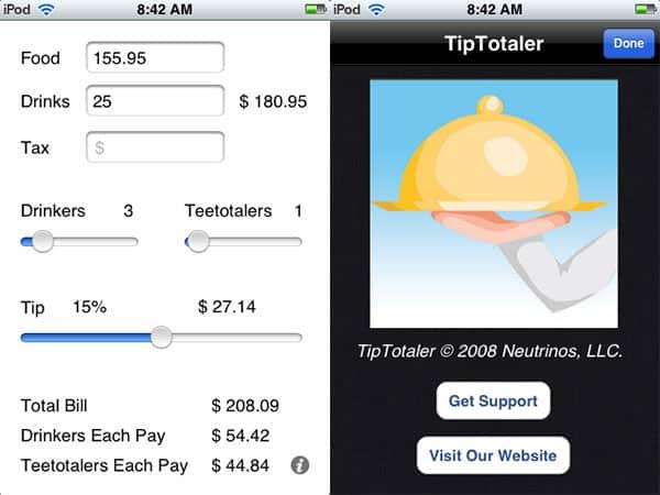 Review: TipTotaler by Neutrinos