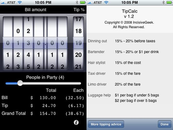 Review: TipCalc by IncisiveGeek