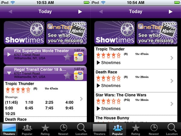 Review: Showtimes by Avantar