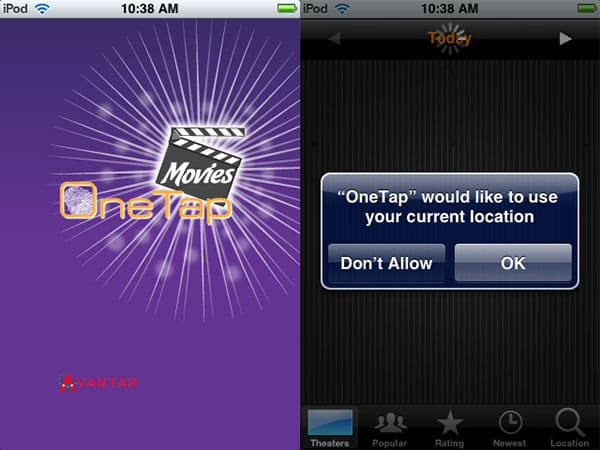 Review: OneTap Movies by Avantar