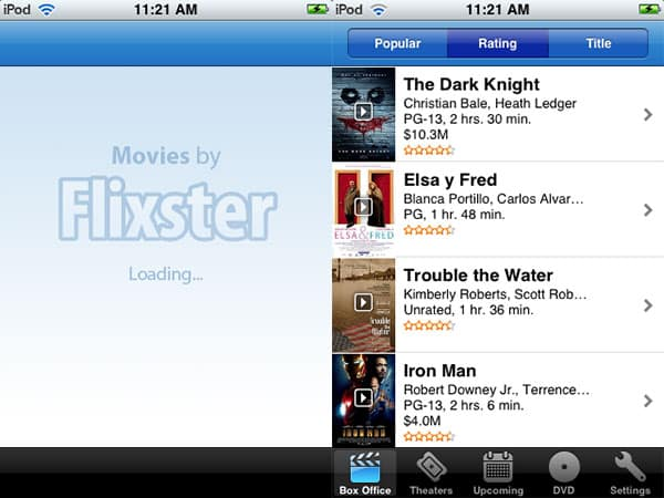 Review: Movies by Flixster