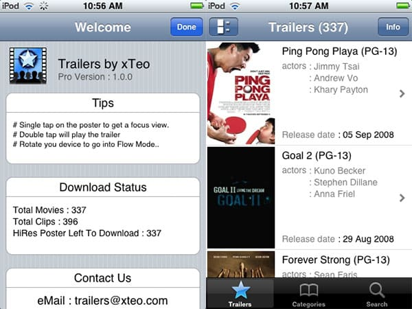Review: Trailers and Trailers Lite by xTeo