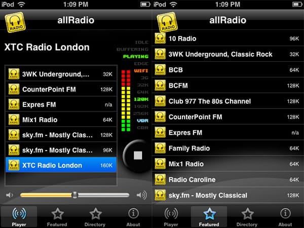 Review: allRadio by VisuaMobile