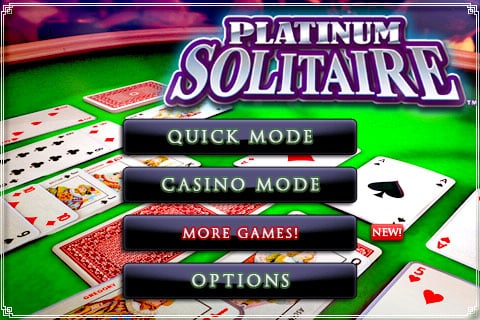 Review: Platinum Solitaire by Gameloft