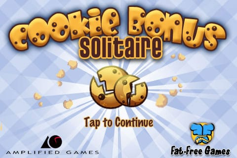 Review: Cookie Bonus Solitaire by Amplified Games