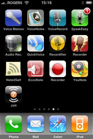 Review: GarSoft VoiceNotes