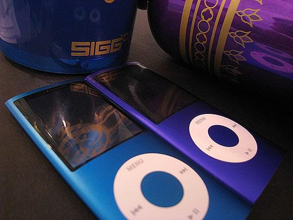 A Brief Note on the 4G iPod nano's Purple Color