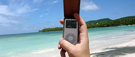 Photo of the Week: iPod in the Dominican Republic