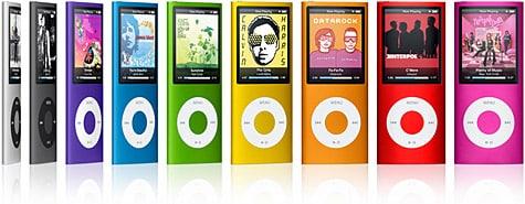 Apple intros fourth-generation iPod nano