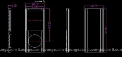 iPod nano 4G, touch 2G dimensions revealed?