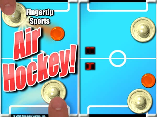 Review: Air Hockey! Fingertip Sports by Sea Lion Games