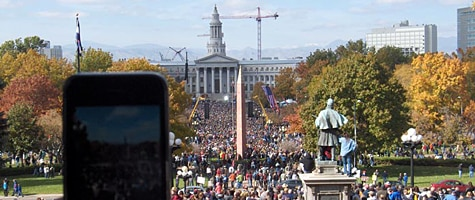 Photo of the week: iPhone 3G in Denver