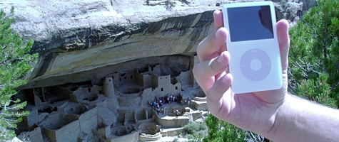 Photo of the Week: iPod in Colorado
