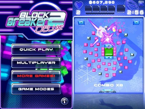 Review: Block Breaker Deluxe 2 by Gameloft