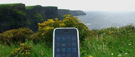 Photo of the week: iPhone in Ireland
