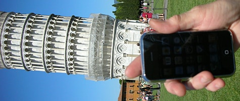 Photo of the Week: iPhone in Italy