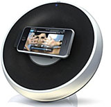 Philips/DLO shows iPod speakers, FM transmitter